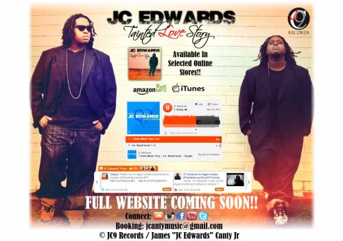 [Site] JCEdwardsMusic.com Landing Page